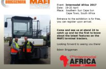 MAFI/Briggeman at 17th Intermodal Africa 2017